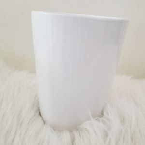 Other - Mid-century milkglass vase with great subtle line